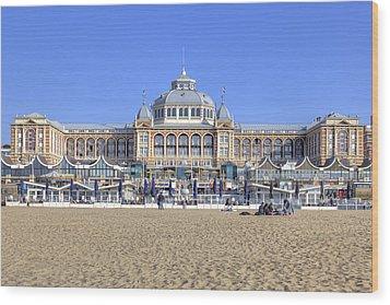 Scheveningen Wood Print by Joana Kruse