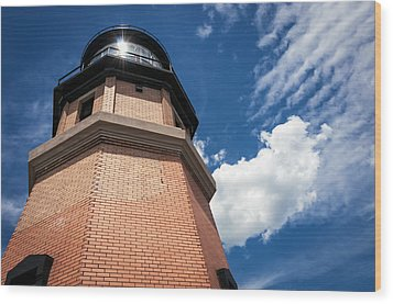 Split Rock Lighthouse Wood Print