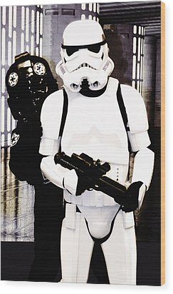 Star Wars Stormtrooper  Wood Print