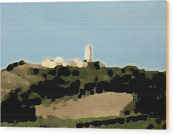 Tarquinia Landscape Wood Print