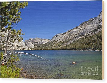 Tenaya Lake Wood Print