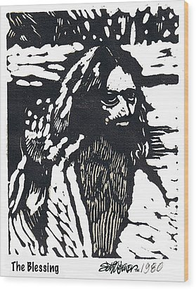 The Blessing Wood Print by Seth Weaver