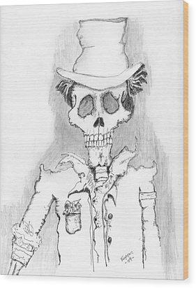 The Dealer Wood Print by Dan Twyman