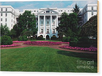The Greenbrier Wood Print