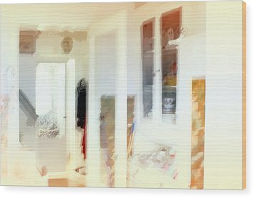 2 The Hallway Wood Print