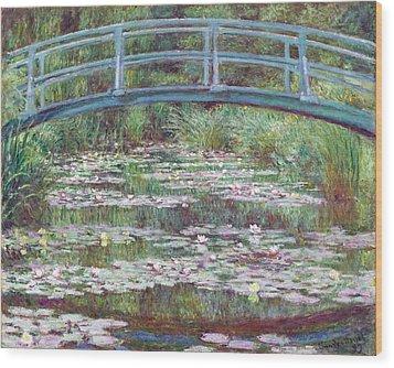 The Japanese Footbridge Wood Print