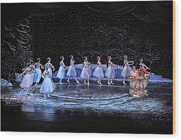 The Nutcracker Wood Print