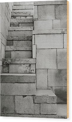 The Stairway Wood Print by Shaun Higson