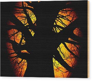 The Tree Of Knowledge Wood Print