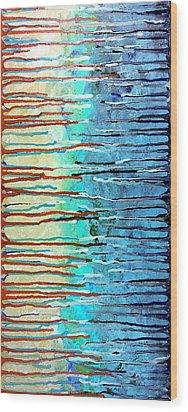 Thru The Storm 7 Wood Print by Lady Ex