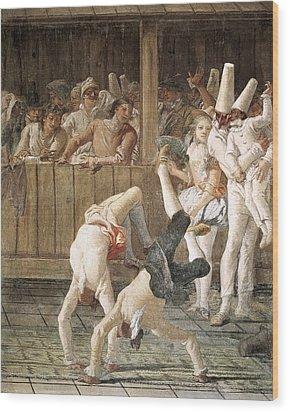 Tiepologiovanni Domenico 1727-1804 Wood Print by Everett