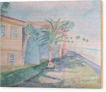 Tropical Breeze Wood Print by Craig Calabrese
