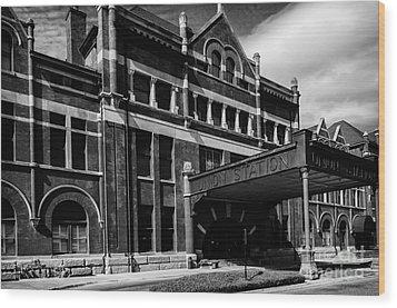 Union Station In Montgomery Alabama Wood Print