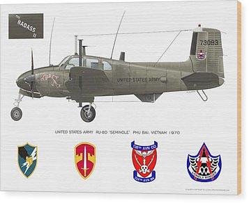 U.s. Army Ru-8d Card Or Mug Art Wood Print