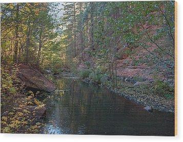 West Fork Wood Print by Tam Ryan