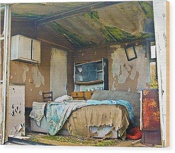 Where Do They Sleep Now Wood Print by Tony Reddington