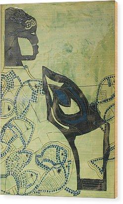 Wise Virgin Wood Print by Gloria Ssali
