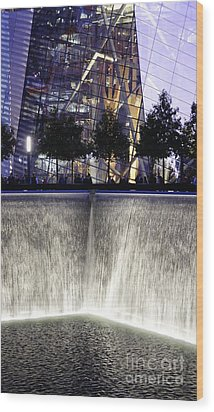 World Trade Center Museum Wood Print by Lilliana Mendez