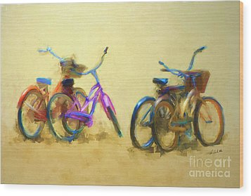 2 By 2 Wood Print by Andrea Auletta