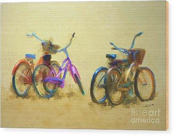 2 By 2 Wood Print