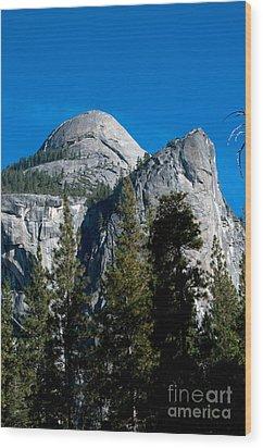 Yosemite National Park Wood Print by Mark Newman