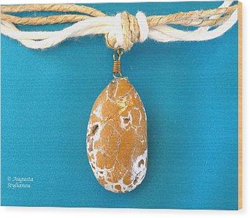 Aphrodite Urania Necklace Wood Print by Augusta Stylianou
