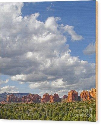 Sedona Arizona Wood Print by Gregory Dyer