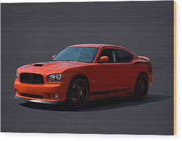 2009 Dodge Srt8 Super Bee Wood Print by Tim McCullough