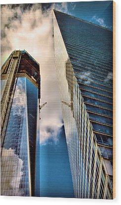 2011 Memorial New York City Wood Print