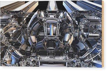 2012 Model Time Machine Wood Print