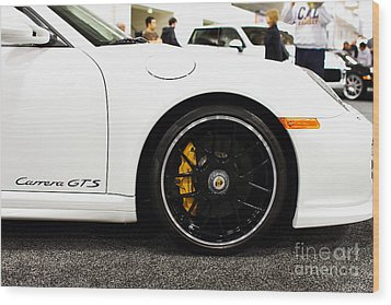 2012 Porsche 911 Carrera Gt 7d9630 Wood Print by Wingsdomain Art and Photography
