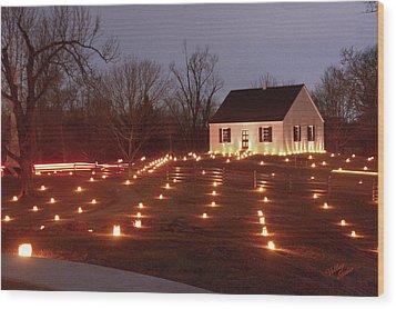 Wood Print featuring the photograph 2013 Antietam - Dunker Church by Judi Quelland