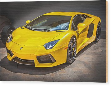 2013 Lamborghini Adventador Lp 700 4 Wood Print