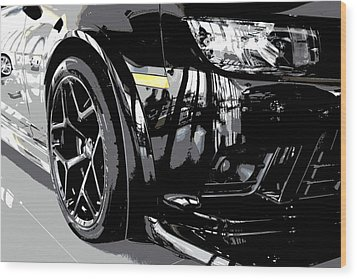2014 Chevrolet Camaro Z28 Xl Wood Print