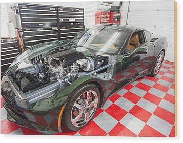2014 Corvette Wood Print