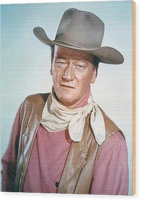 John Wayne Wood Print