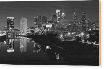 23 Th Street Bridge Philadelphia Wood Print