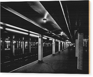23rd Street Station Wood Print by Benjamin Yeager