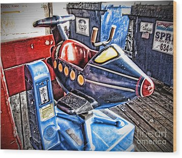 25 Cents Wood Print by Christina Perry