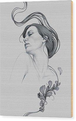 265 Wood Print by Diego Fernandez