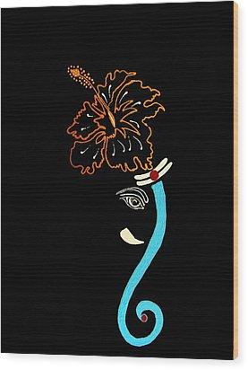 27 Mundakarama Ganesh Wood Print