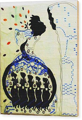 Wise Virgins Wood Print by Gloria Ssali