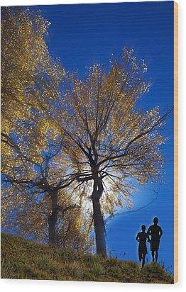 2851 Wood Print