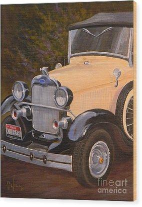 29' Ford Wood Print
