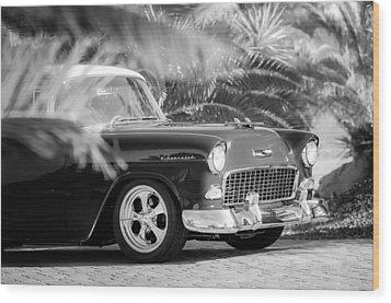 1955 Chevrolet 210 Wood Print by Jill Reger