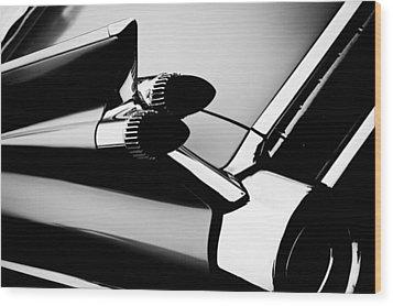 1959 Cadillac Convertible Wood Print by David Patterson