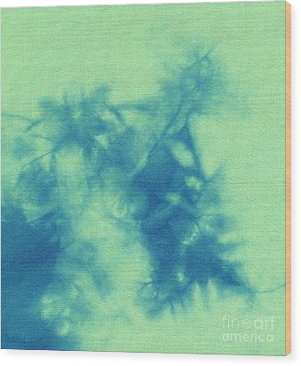 Abstract Batik Pattern Wood Print by Kerstin Ivarsson