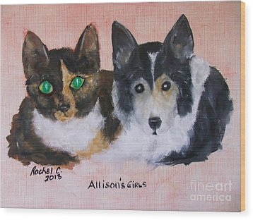Allisons Girls Wood Print