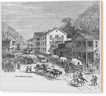 Arkansas Hot Springs Wood Print by Granger