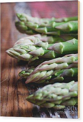 Asparagus Wood Print